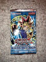 New Sealed Yugioh Legend of Blue Eyes White Dragon 1x Booster Pack Unweighted