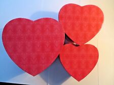 Hearts - Gift Boxes - Set of 3