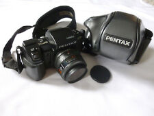 PENTAX SFX 35MM FILM CAMERA SMC 1:3.5-4.5 ZOOM LENS + CASE ~ EXCELLENT CONDITION