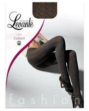 Levante gemusterte Fashion Strumpfhose blickdicht, E392