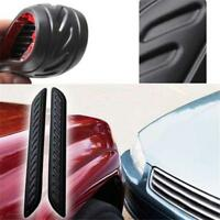 Car Rear Bumper Sill Protector Plate Rubber Cover Guard Pad Moulding Trim DD