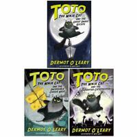 Toto The Ninja Cat Series Dermot O'Leary Collection 3 Books Set Children's Pack
