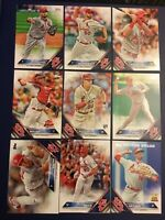 2016 Topps ST. LOUIS CARDINALS Complete Team Set Series 1 and 2 - 21 Sharp LOOK