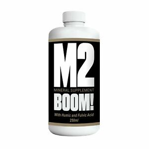 NATURAL LIQUID MINERAL SUPPLEMENT WITH FULVIC AND HUMIC ACID - M2 BOOM
