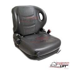 NEW MOLDED TOYOTA FORKLIFT SUSPENSION SEAT W/ SEATBELT & SWITCH PREMIUM QUALITY!