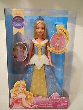 Disney Princess Magic Dress Sleeping Beauty with Color Changing Gown - New