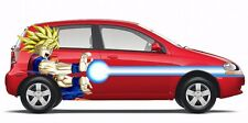 Goku Wall Decal Anime Dragon Ball Z Sticker Decor Vinyl Window Cars Character