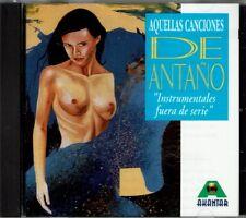 Aquellas Canciones de Antano Instrumentales Fuera de Serie BRAND  NEW SEALED CD
