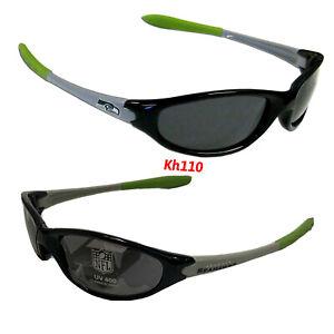 NFL Seattle Seahawks Sleek Wrap Sunglasses -UV 400 Protection- Kids