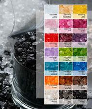 beste Qualität 8 x 100 g Wetterfest EUR 0,99//100 g Deko Glassteine 2-4 mm