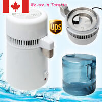 Home Dental/Medical 4L Water Pure Distiller Purifier Filter 304 Stainless Steel