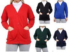 Sizes 4-16 Genuine School Uniform Girls Classic Cardigan Sweater