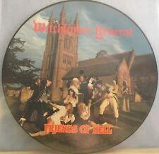 WITCHFINDER GENERAL Friends Of Hell 1983 UK vinyl LP PICTURE DISC original