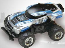 Rc 1/58 Radio Control Micro Rc Truck Baja Racer 4X2 w/ Suspension Blue Baja