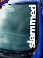 500mm (50cm) Large Slammed Sticker Decal Graphic JDM EURO DUB VAG VW RAT FUNNY