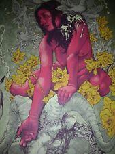 Kvelertak Meir Tour Poster John Baizley Poster 2013 Signed Silk Screen print HTF