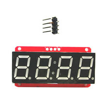 4 Digit Seven-Segment 0.56 Inch LED Display Module HT16K33 I2C for Arduino