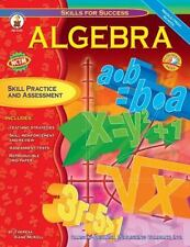 Algebra: Skill Practice and Assessment for Middle/High School [Skills for Succes