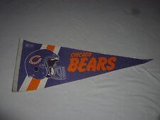 "VINTAGE CHICAGO BEARS 28"" FOOTBALL PENNANT BANNER NFL"