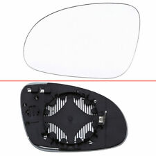 Car Left Side Mirror Glass Heated W/Holder For VW Golf Jetta MK5 Passat B6