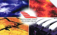 G PRP 349 C&C 2692 SCHEDA TELEFONICA USATA PROTEZIONE CIVILE
