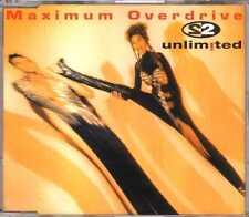 2 Unlimited - Maximum Overdrive - CDM - 1993- Eurodance 4TR Scorpio Music France