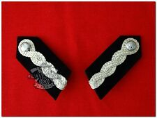 British Colonial Hong Kong Police Asst/Senoir Commissioner Gorget Patches (Pair)