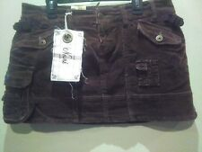 Corduroy Brown Mini Skirt  Size 5