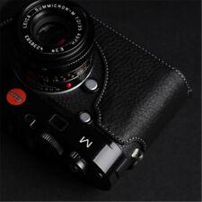 Handmade Genuine Real Leather Half Case bag Cover For Leica M240 M240p Camera