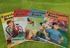 Encyclopedia Brown (4 books) by Donald J. Sobol