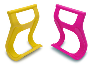 Carry Surfboard Easily, Surf Claw Perfect Rail Grabber (1 x yellow + 1 x pink)