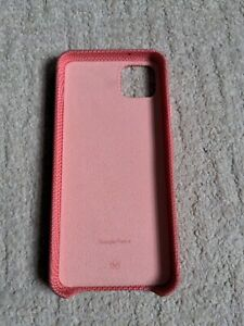 Genuine Google Pixel 4 XL Case Cover Fabric Could Be Coral GA01278  PLEASE READ