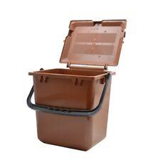 BIOMAT® AirBox® Abfalleimer für Biomüll Mülleimer Biomülleimer Kompost Braun
