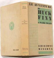 1935 MARK TWAIN LE AVVENTURE DI HUCK FINN HUCKLEBERRY