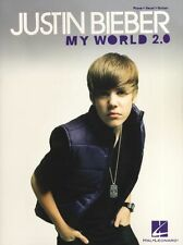 Justin Bieber My World 2.0 Eenie Meenie Learn Play Piano Vocal Guitar Music Book