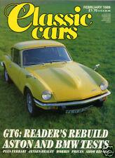 Classic Cars - Feb 89 BMW 3.2 CSL Batmobile, Triumph