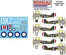 AFC Sopwith Snipe WWI Decals 1/72 Scale N72074