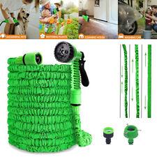 Flexibler Gartenschlauch dehnbarer Wasserschlauch Flexischlauch Flexibel Grün DE