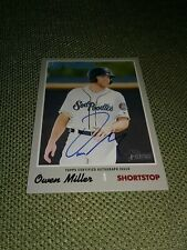 Owen Miller Auto 2019 Topps Heritage Minor League