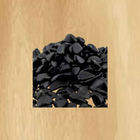 1 lb Black Obsidian Tumbled Chips Crushed Stone Healing Reiki Crystal Jewelry