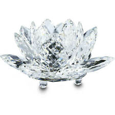 Swarovski Crystal Waterlily Candleholder, Large, Clear - 5084104 New