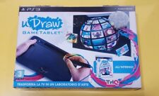 UDraw Game Tablet + UDraw Studio PS3 VERSIONE ITALIANA NUOVO