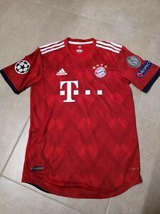 FC Bayern CL Adizero Authentic Spielerversion Hummels Trikot 18/19 no Matchworn