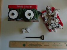 Music Box Fire Chief Dalmatians Wagon Chariots Of Fire Numbered Read Description