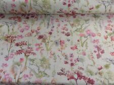 Shirebrook Forest Designer Linen Curtain/Craft /Upholstery Fabric