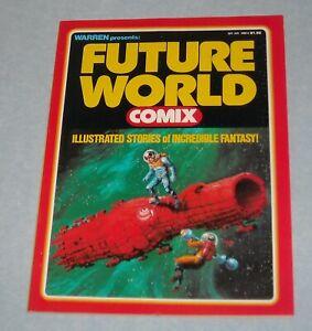 September 1978 WARREN FUTURE WORLD COMIX ILLUSTRATED MAGAZINE LARRY TODD COVER
