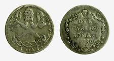 pcc2126_14) St Pontificio  Pio VI (1775-1799) - 2 Carlini 1780 A. VII