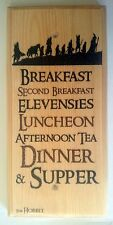 The Hobbit Diet Plaque / Sign / Gift - Lord Of The Rings Kitchen Breakfast 455
