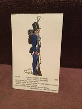 Card Rene North 35 United States Infantry No 5
