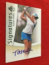 NATALIE GULBIS 2013 SP AUTHENTIC GOLF AUTO EXTREMELY RARE REDEMPTION FROM UD